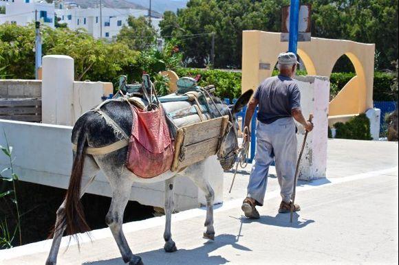 Life in Amorgos