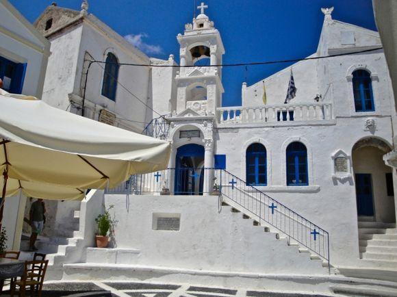The beautiful square of Nikia
