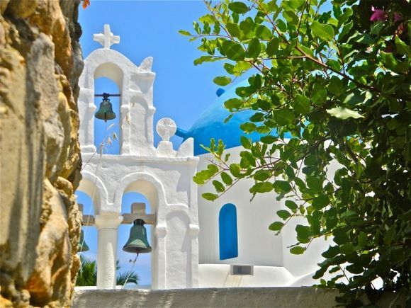 Donoussa Church of holy Cross in Stavros