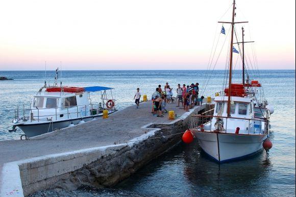 Sunset time in Diafani