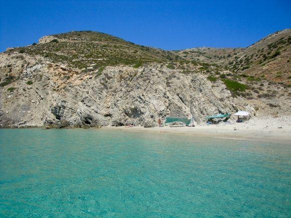 Gorgeous Livadi beach