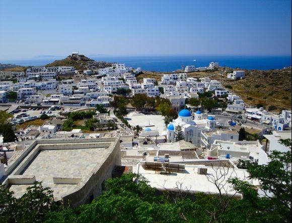 Village view from Panagia Gremiotissa