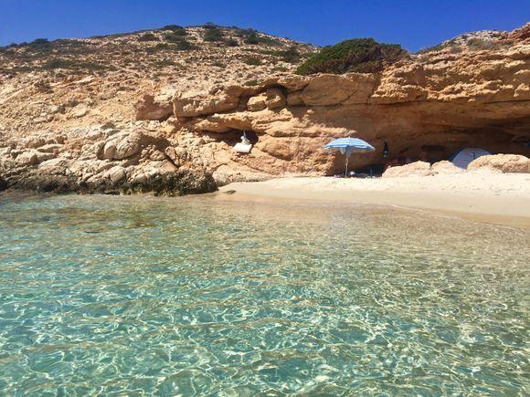 Wonderful, small Fikio beach