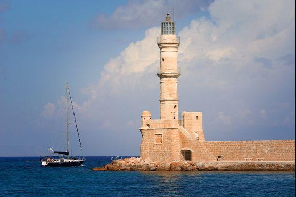 Venetian Lighthouse at Chania