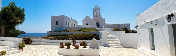 Chrissopigi Monastery @greekacom
