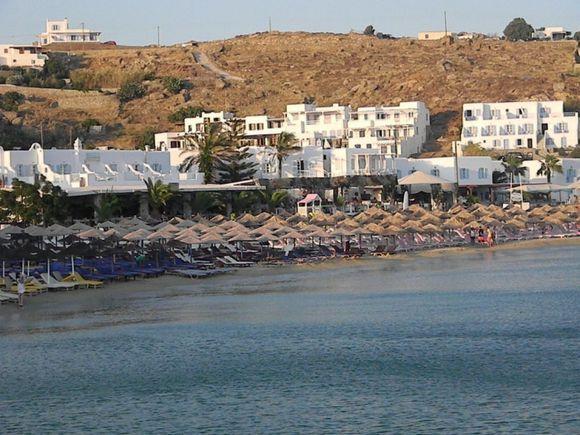 Platis Gialos at Mykonos