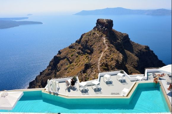 Grace Hotel, Santorini.