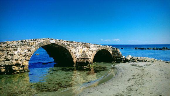 bridge in sea :-D