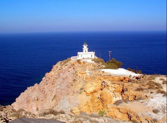 Volcanic Santorini - Akrotiri lighthouse