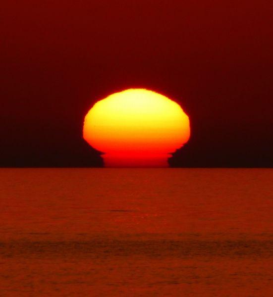 Apocalyptic sunset - Patmoshima Saganaki