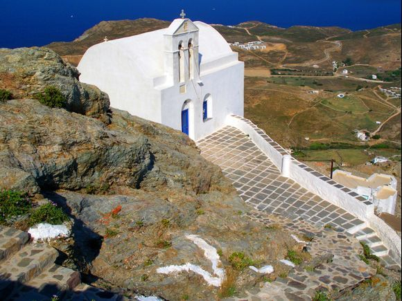 Agios Ioannis with a view