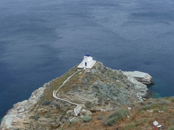 Church of the Seven Martyrs, Sifnos, June 2011