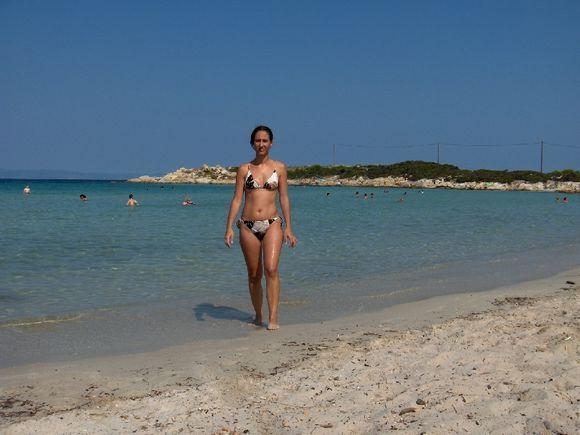 karidi beach, vourvourou