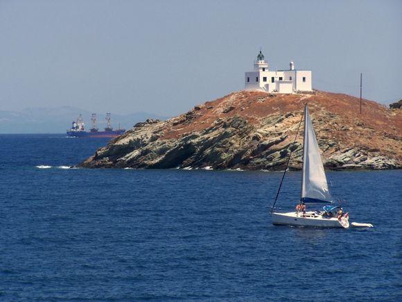 Lighthouse in Korissia