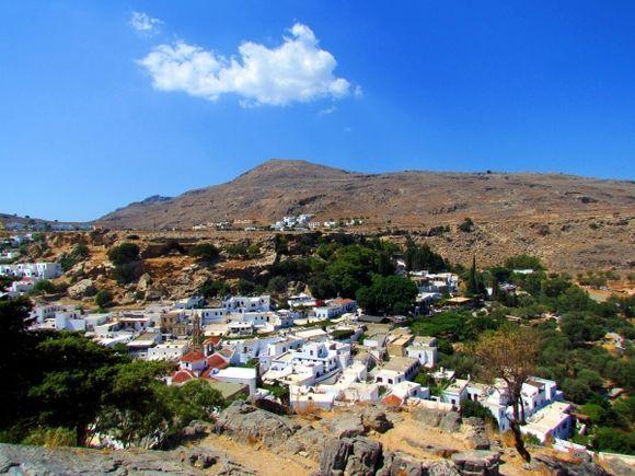 Lindos,Greece