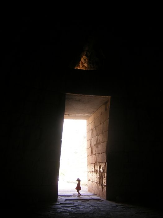 Lookin out of Agamemnon\'s Tomb