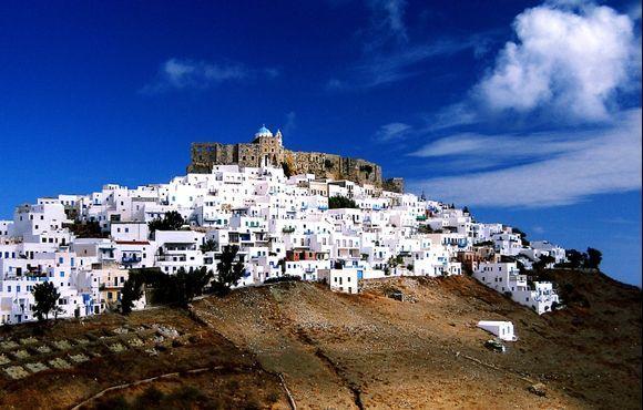 The castle of Astypalea