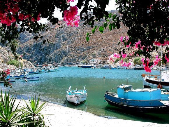 Bathis harbour, Kalymnos
