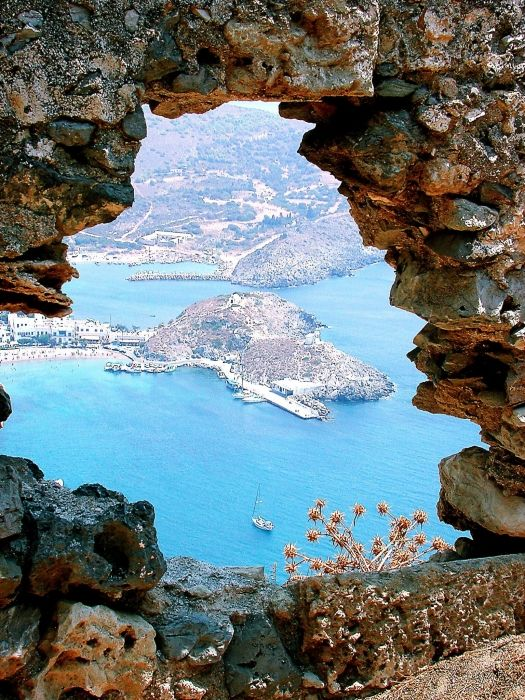 View from the castle of Chora, Kythera