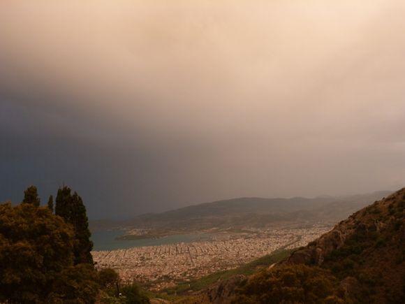 Volos view from Markinitsa, Pilio