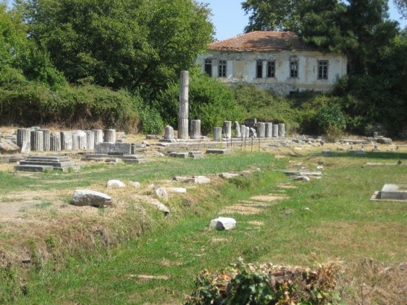 Ruins in Thassos Town