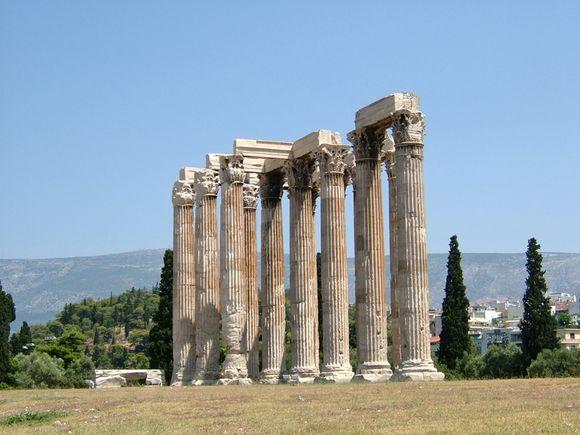 Zeus's Temple, Athens