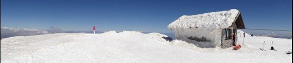 Helmos Mountain at Kalavrita