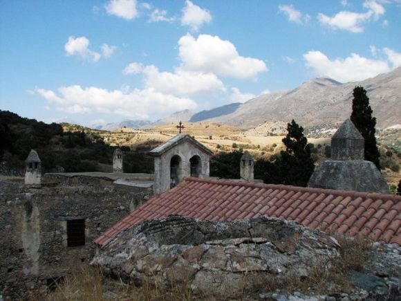 The Preveli Monastery is one of the largest, most important and historic in Crete. It's imposing and, since there were no settlements near by,  almost isolated, which makes it ideal for a photogenic, adventurous day.