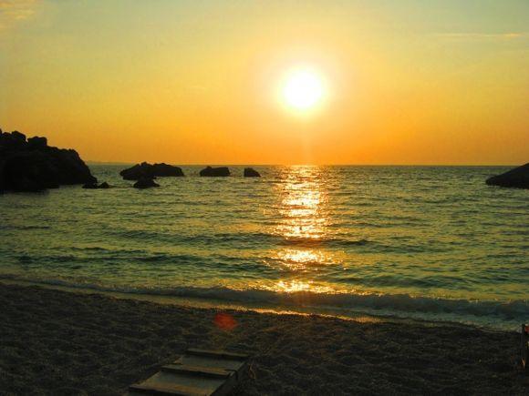 Sunset on Sarakiniko