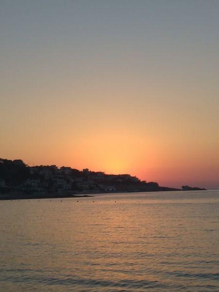Mesakti beach , sunset