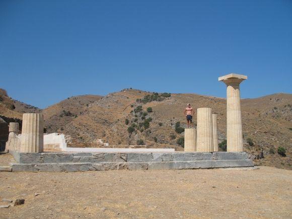 Archeological site of Karthea (south of the island)