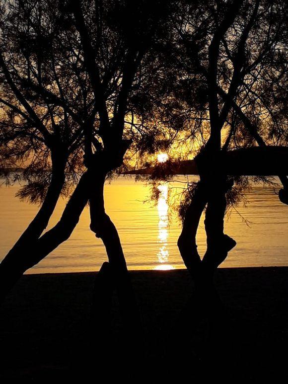 Tonight's sunset at Livadia