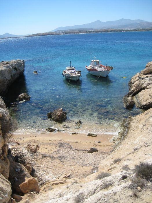 Small harbour near Santa Maria beach