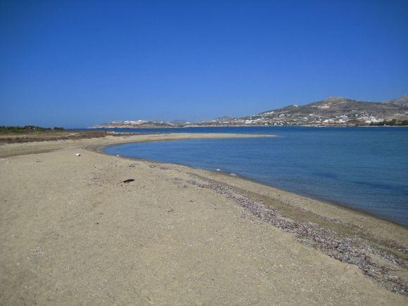 Paros from Antiparos 2.