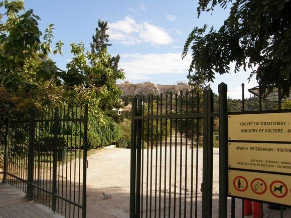 Ancient Agora entrance