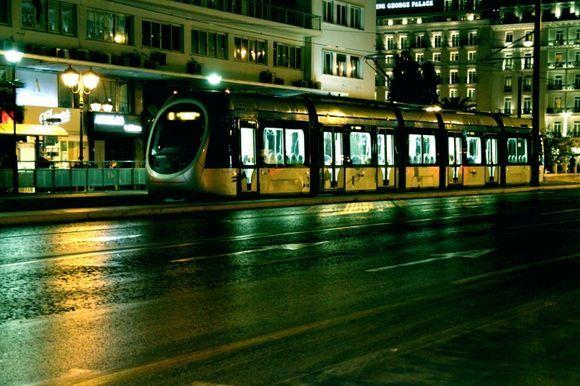 Syntagma tram stop