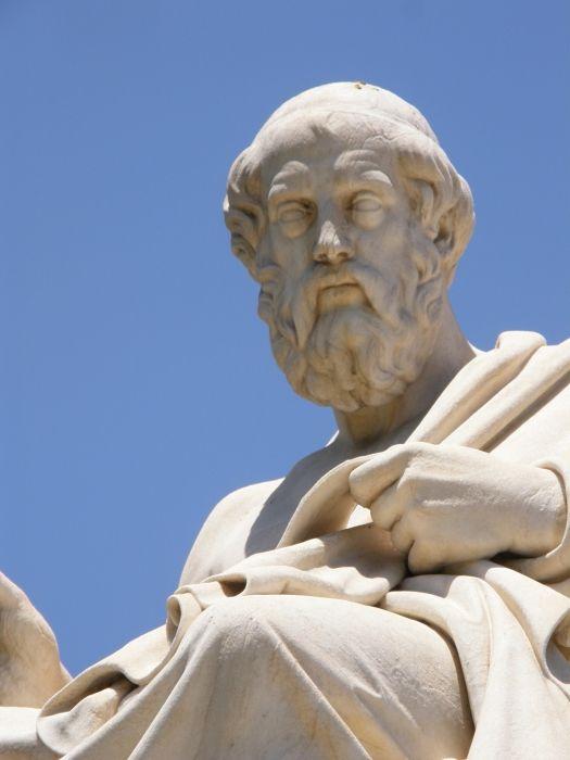 Platon sculpture