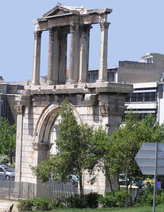 Hadrian\'s Arch