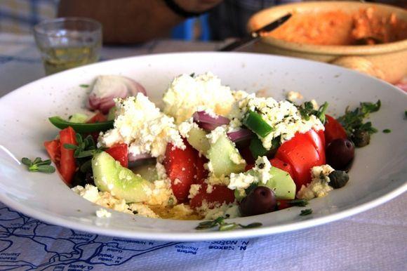 Pyrgaki local salad