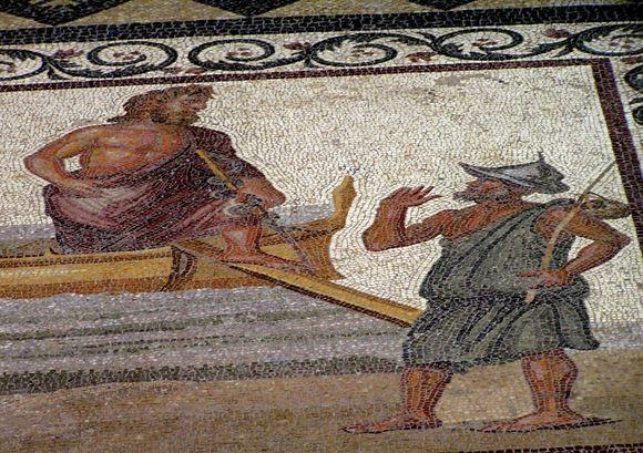 Asklepion arrives in Kos mosaic