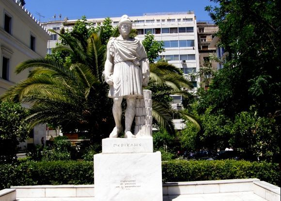 Perikles statue