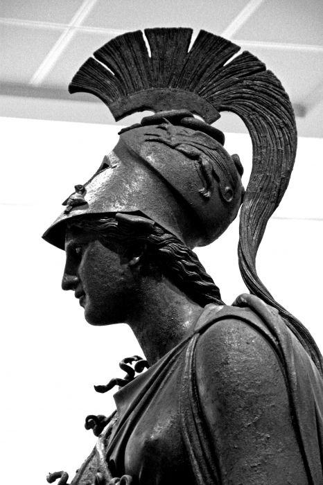 Piraeus Archeological Museum_Athena bronze statue