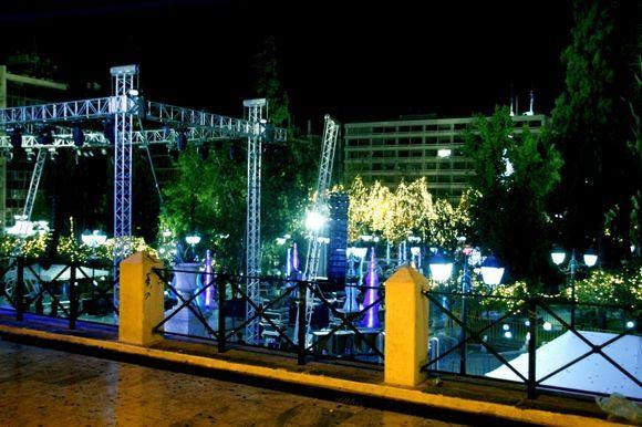 Syntagma - New Years Eve