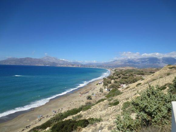 Kommo beach near Pitsidia