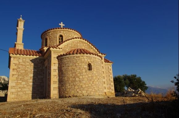 Church in Pitsidia.