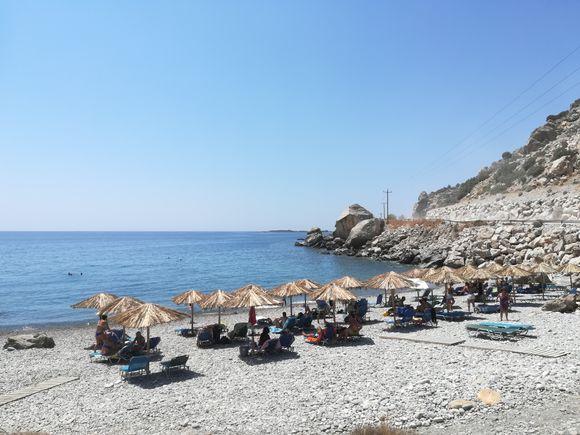 Volakas Beach: my fav in Palaiochora! 🏖️🌅🌊