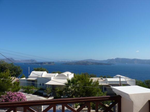Caldera's view from Akrotiri