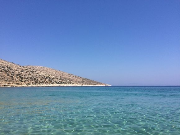 The beautiful waters of Agia Theodoti