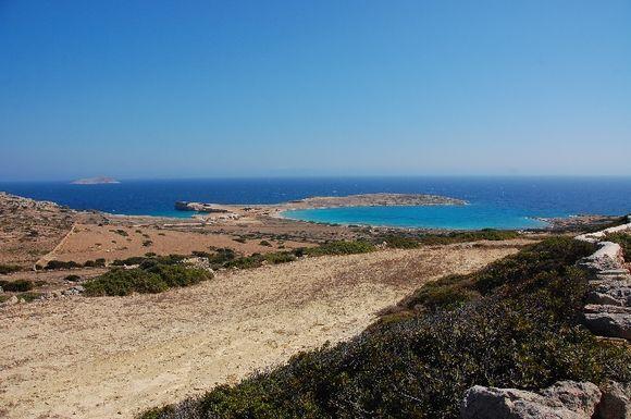 The perfect circle of Pori beach, Koufonisia