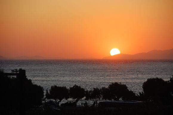Sunset in Katapola, Amorgos